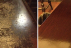 Bar Top Before & After