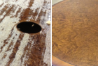 Round Table Before & After